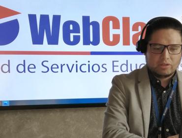 webinar de libro de clases digital clases online temas informe DIA educación